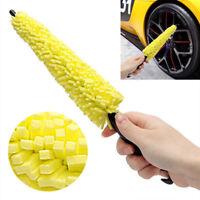 1pcs Sponge Car Wheel Tire Rim Scrub Brush Washing Cleaner Vehicle Cleaning Tool