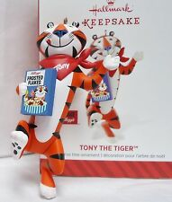 HALLMARK 2014 Tony the Tiger Kelloggs Frosted Flakes Reveal Ornament NEW in Box