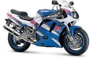 Suzuki GSX-R750 Workshop Service Shop Manual GSXR 750W 1993 - 1995