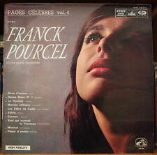 FRANCK POURCEL PAGES CELEBRES VOL.4 CHEESECAKE COVER ORIG FRENCH LP