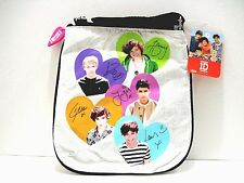 One Direction Metallic Girl Crossbody Bag Signature Niall Louis Harry Zayn Liam