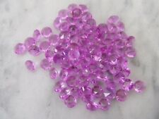 1000 Purple Diamond Confetti 6mm Wedding Table Scatter