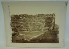 GIORGIO SOMMER 1834 - 1914 SEGESTA TEATRO - OLD VINTAGE PHOTO