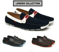 Mens Casual Slip On Shoes Boat Deck Designer Smart Mocassin Driving Loafers Size