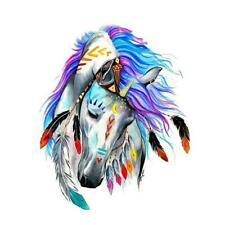 3D Clothes Horse Patches Iron On Unicorn DIY Printing Heat Transfer Stickers