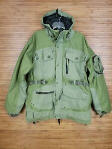 Grenade Fatigue Project Olive Green Nylon Snowboard Jacket Mens Size Large L