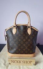 Authentic Louis Vuitton Lockit Vertical Monogram Canvas Hand Bag