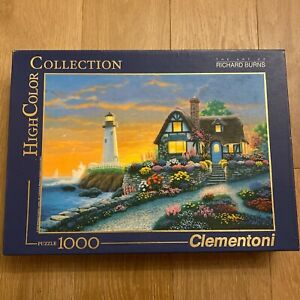 Puzzle 1000 ❤️ The art of RICHARD BURNS - Clementoni - High Color Collection