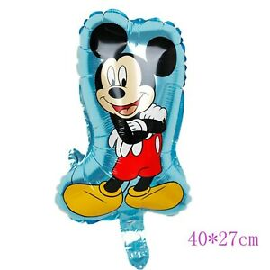 All Themed Kids Birthday Party Game Disney Cartoons Foil Party Balloons Decor