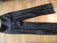BEN BARTON chice Seidenhose schwarz Gr. 34 NEU ZC116
