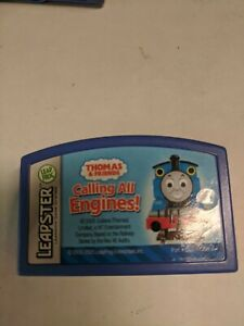 Leap Frog Leapster Game Cartridge Thomas & Friends Calling All Engines