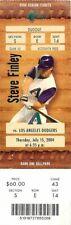Ticket Baseball Arizona Diamondbacks 2004 - 7/15 - Los Angeles Dodgers