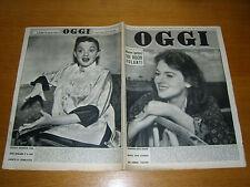 OGGI 1952/26=LUCIA BELLODI=PALAZZO TRECENTO TREVISO=FERRUCCIO TAGLIAVINI ROVERO=