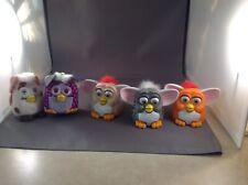 Furbys Lot Of 5 McDonald's happy meal 2 keychain 3 regular