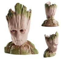 Groot Planter Tree Man Galaxy Pen Holder Figure Flower Pot Guardians of The Toy