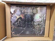 Dead Throne World of Veles Kickstarter Game w. Mechanical Market - NEW & Sealed