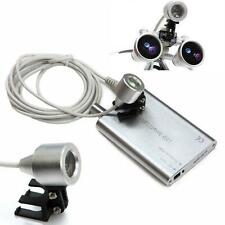 LED Head Light Lamp for Dental Surgical Medical Binocular Loupes Silver USA A+