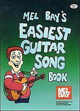 MEL BAY EASIEST GUITAR SONG BOOK