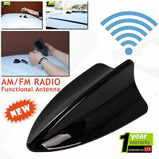 Seat Ibiza Functional Shark Fin Black Antenna 2010 Onwards (For AM/FM Radio)