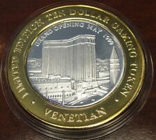 VENETIAN  Silver Strike  *LTD. 250* 1999 GRAND OPENING CASINO *Rare*