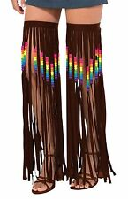 Hippie Leg Garlands Beaded/Fringed, Fancy Dress Party Costume Accessory