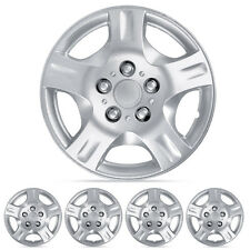 "Hub Cap Cover Fits Nissan Altima Hubcaps 4PC Silver 15"" Durable ABS Replica"