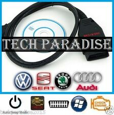 Interface Valise diagnostic Audi HEX+K+CAN COM OBDII USB VAG 2013 Full Command