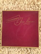 Selfridges 4 New Vintage Napkins Boxed