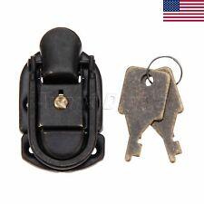1x Purse Toggle Latch Antique Jewelry Wine Box Case Key Lock Hardware US STOCK