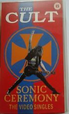 The Cult - Sonic Ceremony The Video Singles 1992 feat. Fire Woman  VHS