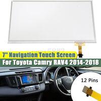 7'' Navigation Touch Screen Glass Digitizer For Toyota Camry RAV4 2014 - 2018