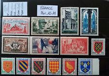 TIMBRES de FRANCE Neufs** n° 983 à 1005 .. Année1954  Nov 12-19