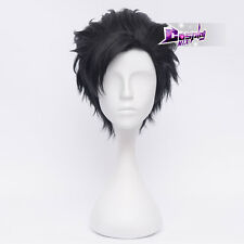 Cosplay Haikyuu Karasuno High School Volleyball Club Tetsurou Kuroo Short Wig