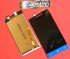 C PRO1: DISPLAY+ TOUCH SCREEN+VETRO ORIGINALE PER HTC 8S A620E ONE VETRINO BLU