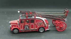Matchbox Models of Yesteryear #YFE08 – 1:43 1936 Leyland Cub FK-7 Fire Engine