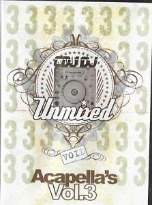 Unmixed Acapellas Vol 3 DJ ONLY