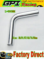 """3"""" inch 76mm 75Degree Aluminum Turbo Intercooler Pipe Piping Tube hose 600MM NEW"""
