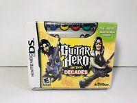 Guitar Hero: On Tour/Guitar Hero: On Tour - Decades Box Set Bundle Includes Game