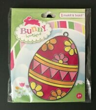 Makit & Bakit Easter Red & Pink Egg by Bunny Boutique (Ages 8+) Suncatcher