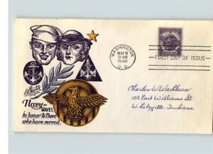 """Scarce STAEHLE, United States NAVY WAVES """"In Honor to Those Who Have Served"""" 194"""