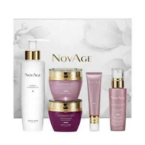 Oriflame NovAge Ultimate Lift Contour Define Set Of 5 pcs Grandma Gift 44941