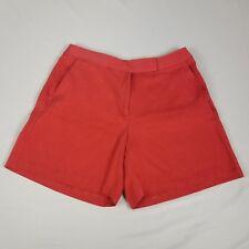 Tommy Bahama Womens Shorts Size 6 Orange Silk Blend