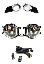 2011-2017 Toyota Sienna Bumper Driving Fog Lights Lamps w/ Switch+Wiring Kit Set