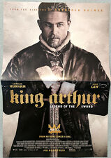 KING ARTHUR LEGEND OF THE SWORD poster 11.5 x 17 Charlie Hunnam Guy Ritchie