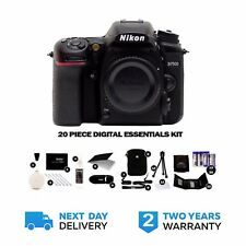 Nikon D7500 DSLR Body With Vivitar Essentials kit, 2 Yrs Wrnty Free UK Delivery