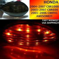 2006 06 HONDA CBR 600 RR SMOKE LED Flush Mount Turn Signals 1 pair (L & R) TS01S