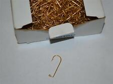 New Box 1,000 Mustad Aberdeen 90 Degree Gold Fish Jig Hook Size 1 32762
