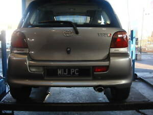 Direct Fit Toyota Yaris T-Sport 1.3 & 1.5 VVT-I  Exhaust Mid & Rear Section