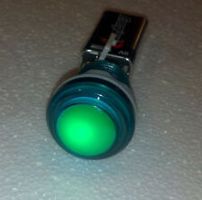 Green illuminated arcade button with led and microswich