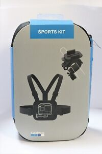 GoPro Sports Kit AKTAC-001 - Chesty, Handlebar + Seatpost Mount, Case